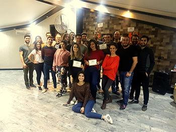 Ankara dans kursu fiyatları sertifika töreni